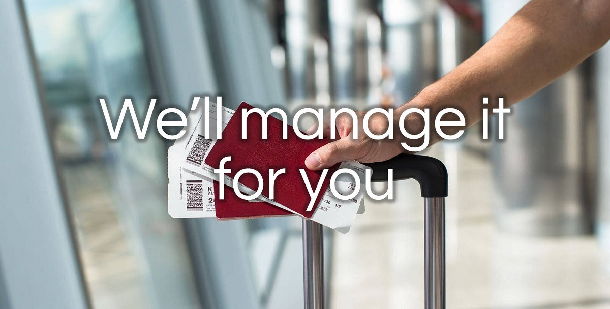 WE MANAGE YOUR LUGGAGE